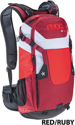 Evoc FR Track 10L Back Protector Pack - Red/Ruby - XS Mountain Bike