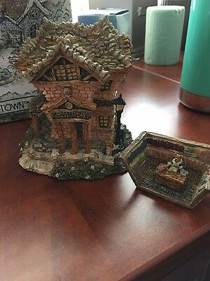 Boyd's Bears THE PUBLIC LIBRARY -Bearly Built Villages Christmas Collectible NIB