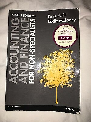 Accounting and Finance for Non-Specialists Ninth Edition