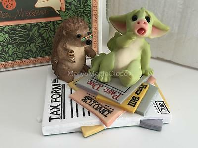 """NIB Pocket Dragons """"I Owe How Much???"""" Figurine - GOEBEL by Real Musgrave"""