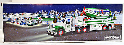 2002 Hess Toy Truck And Airplane (Never Opened/still In Box)