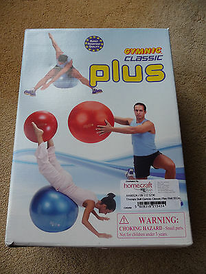 """**gymnic Classic Plus Red 22"""" Exercise Gym Ball**"""