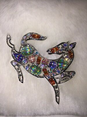 horse lapel pin brooch