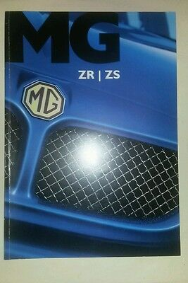 Mg zr zs sales brochure