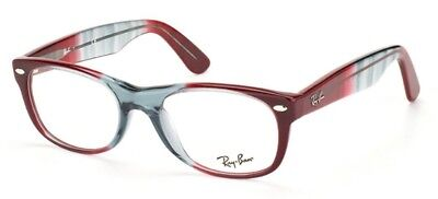 bc96a175e0 RAY BAN EYEGLASSES AUTHENTIC RB5184 5517 50MM BURGUNDY GREY UNISEX RX-ABLE  Frame