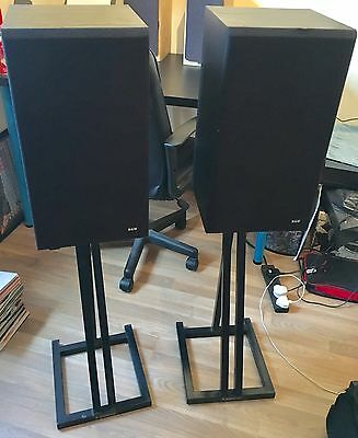 Vintage & Classic B&W DM110 Speakers With REFERENCE Custom Stands Fabulous!