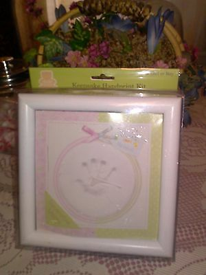 Baby Keepsake Hand Print Kit For Girl Or Boy
