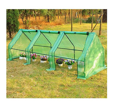 NEW Garden Polytunnel Greenhouse Greenhouses Poly Tunnel Plant Growing Flowers