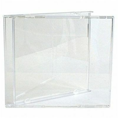 2000 Standard Cd Jewel Cases & Clear Trays Bl100 & Kc02Pk