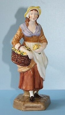 SPODE COPELAND Figurine  PRIMROSES    Cries of London series