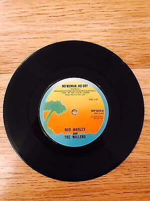 Bob Marley & The Wailers - No Woman, No Cry Record Rare 1974