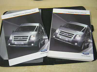 Ford Transit Mk7 Handbook Owners Manual  2006-2013 With Wallet New Cond