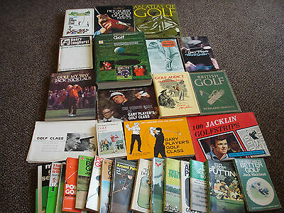 Golfing Books And Mags  Job Lot