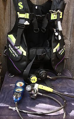 scuba diving equipment set 2