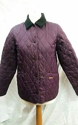 Girls Barbour Shaped Liddesdale Quilted Jacket Size XL / Age 12 to 13 years
