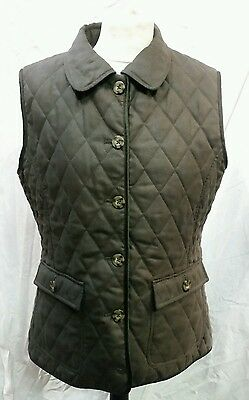 Womens Musto Quilted Gilet / Bodywarmer Size 14