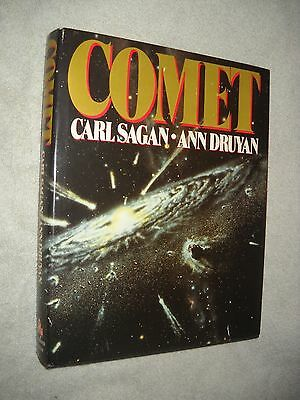CARL SAGAN ~ COMET ~ SIGNED FIRST BOOK CLUB EDITION ~ 1st 1985