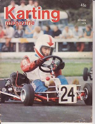 Karting Magazine October 1979 : see below for content listing: Rare !