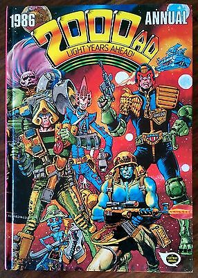 2000 Ad 1986 Annual Judge Dredd