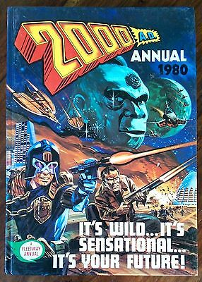 2000 Ad 1980 Annual Judge Dredd