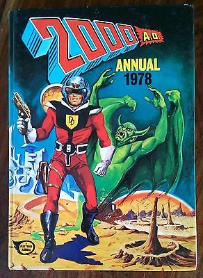 2000 Ad 1978 Annual Judge Dredd