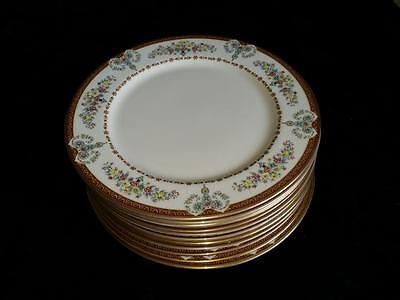 12qty GORHAM GRANDE MOTIF THE MUSEUM COLLECTION Dinner Plates