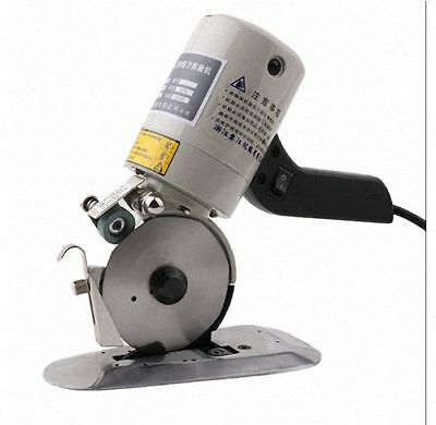90mm Blade Electric Cloth Cutter Fabric Cutting Machine 110V