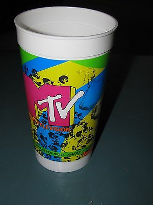 TACO BELL 1990 MTV Video Music Award Plastic Promotional Cup NICE