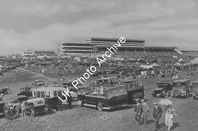 Epsom Downs On Derby Day 1920s Photo 6x4