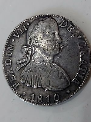 Mexico, 8 reales of the year 1810 Mexican, great silver coin