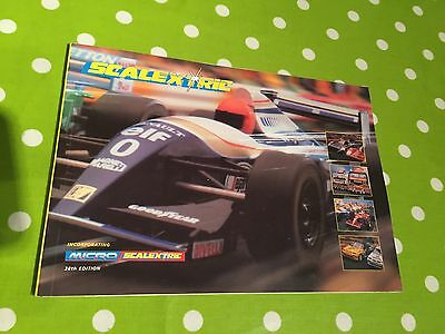 Scalextric Catalogue 38th Edition V Good Condition