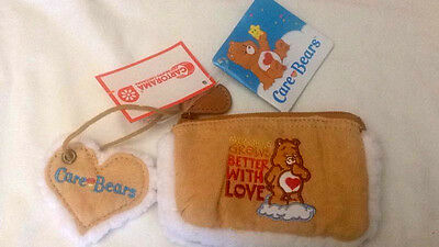 Care Bears Portamonete in Tessuto - Better with Love 14x10cm -Bellissimo - Nuovo