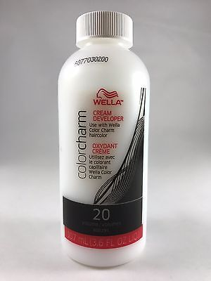 Wella Color Charm 20 Volume Creme Developer 107ml / 3.6 oz + Free Shipping