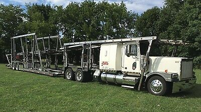 2006 Western Star Car Hauler with 2006 Cottrell CS12 Trailer