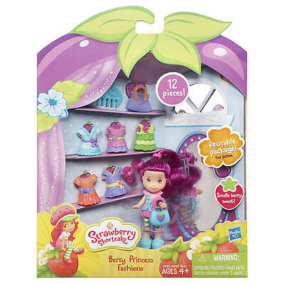 BNISP Strawberry Shortcake Berry Princess Fashions 12 pc set w/ Plum Pudding
