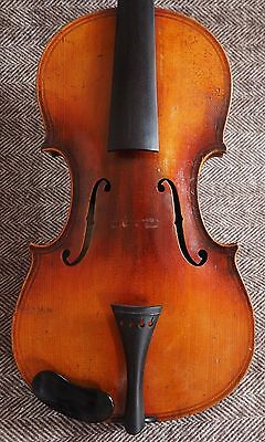 c1890-1910 Antique Paolo Maggini Model Violin Made in Germany Excellent Player