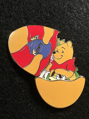 Disney Pin Dsf Dssh Le 300 Winnie The Pooh Hinged Easter Egg Hunny Pot Bees