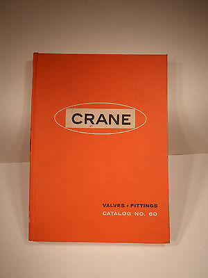 Vintage 1960 CRANE PLUMBING Illustrated Catalog Number 60 ~ Valves Fittings
