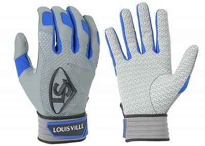1 pr Louisville Slugger BGS716 Adult Small Royal Series 7 Batting Gloves