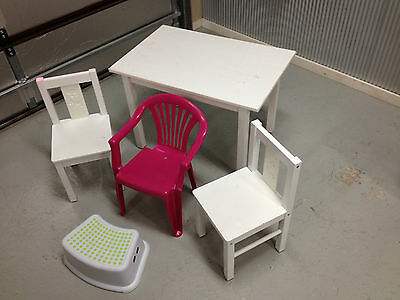 Childrens Table and Chairs Ikea