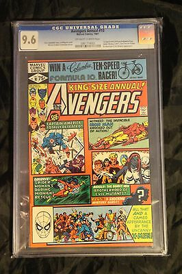 Avengers Annual #10 CGC 9.6 OW/W 1st ROGUE and Madeline Pryor!