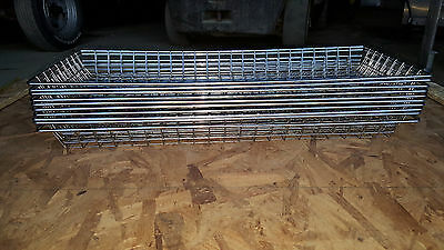 "20 Mesh Donut Frying Glazing Screens Doughnut Rack Basket Wire 10 1/2"" x 26 1/2"""
