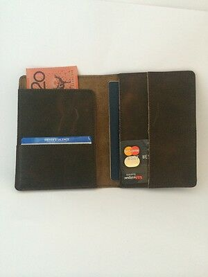Passport Holder Travel Wallet Card Case Credit Organizer Bag Id Leather Cover