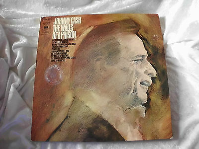 Lp - Johnny Cash - The Walls Of A Prision