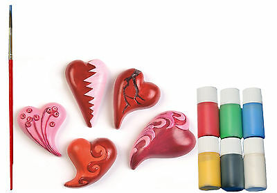 Casting mould Hearts curved Complete Set