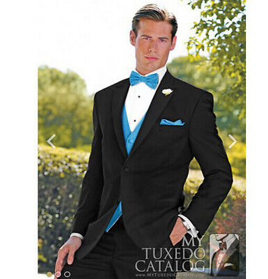 Custom Made Men's Wedding Suits Bride Groom Tuxedos Party Formal Business Suits