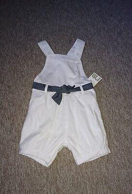 mothercare dungaree shorts 12 to 18 months