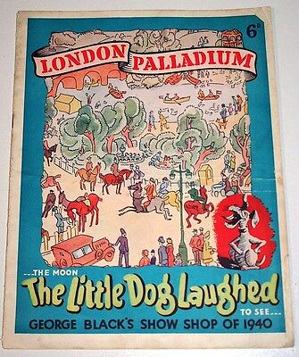 The Little Dog Laughed Theatre Programme London Palladium 1940