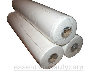 """3 couch rolls 20"""" x 50m hygiene tissue roll for massage couch"""