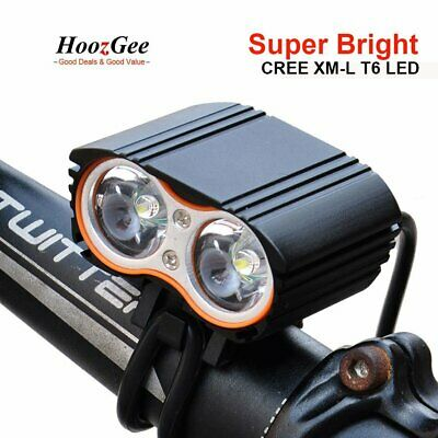 Ultra Bright CREE T6 LED Cycling Bike Bicycle Front Light Lamp Headlight USB/DC